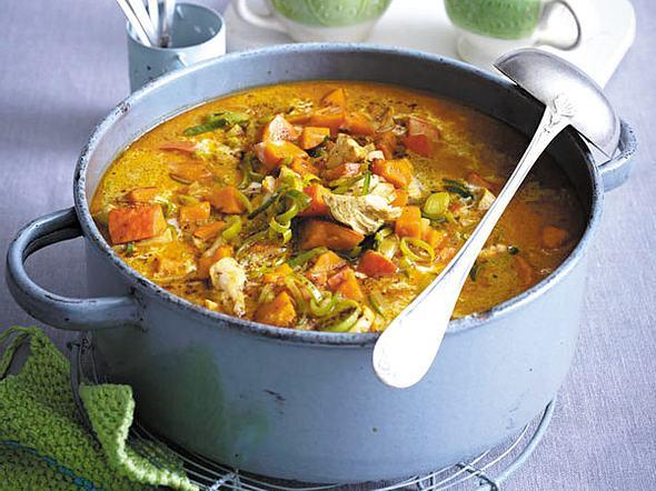 Curry-Hähnchen-Eintopf Rezept