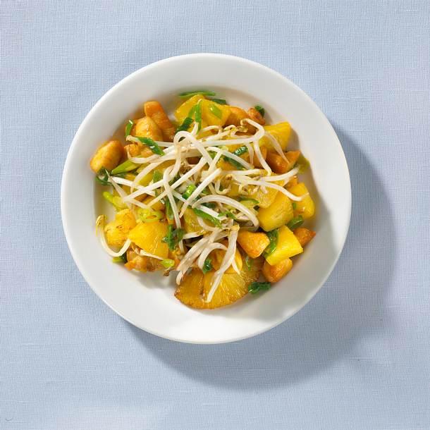 Curry-Hähnchen-Pfanne Rezept