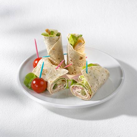 Curry-Huhn-Wrap Rezept