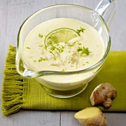 Curry-Joghurt-Dressing mit Limette Rezept