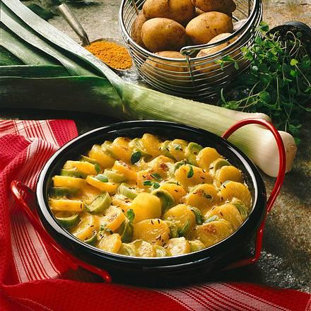 Curry-Kartoffeln Rezept