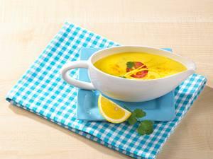 Curry-Koriandersoße zu Spargel Rezept