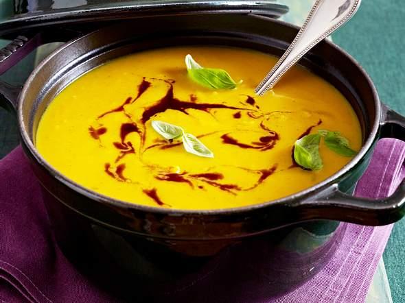 Curry-Kürbissuppe Rezept