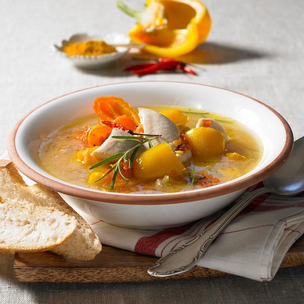 Curry-Linsen-Eintopf Rezept