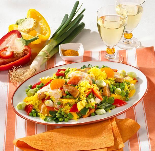 Curry-Reissalat Rezept