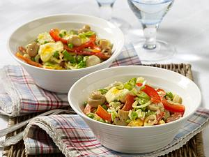 Curry-Reissalat mit Erbsen Rezept