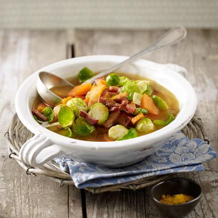 Curry-Rosenkohl-Eintopf Rezept