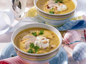 Curry-Süppchen mit Hähnchenbrust Rezept