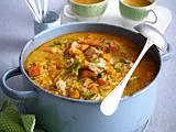 Curryhähnchen-Eintopf mit Kürbis Rezept