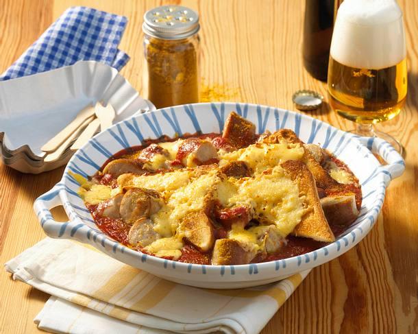 Currywurst-Auflauf Rezept
