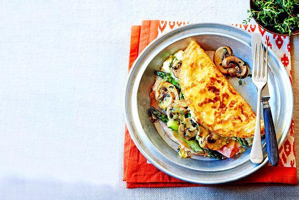 """""""Dalli Dalli""""-Omelett mit Spargel Rezept"""
