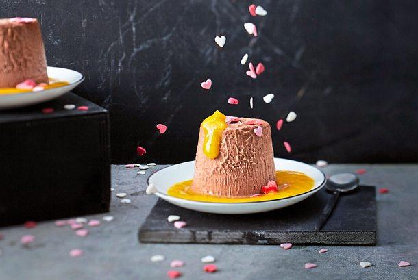 Das passt Parfait: Chili herzt Schokolade Rezept