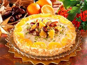 Dattel-Orangentorte Rezept