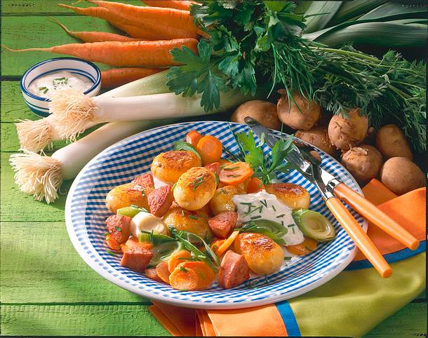 Deftige Kartoffelpfanne Rezept