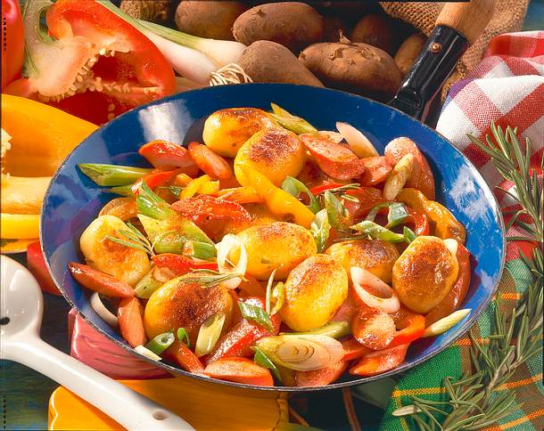 Deftige Röstkartoffeln Rezept
