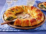 Deftiger Croissant-Kranz Rezept