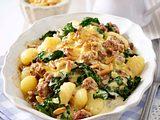 Deftiger Gnocchi-Spinat-Auflauf Rezept
