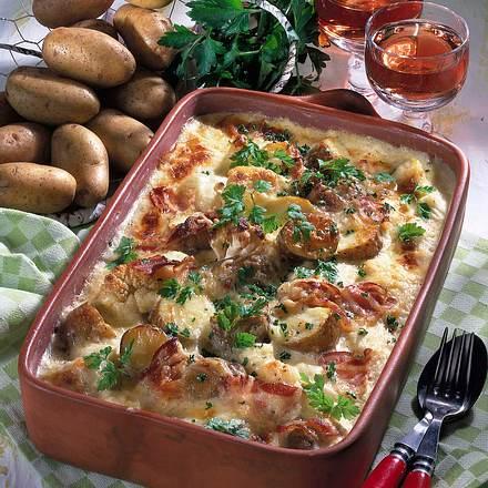 Deftiger Kartoffelauflauf Rezept