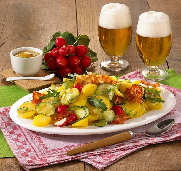 Deftiger Kartoffelsalat Rezept