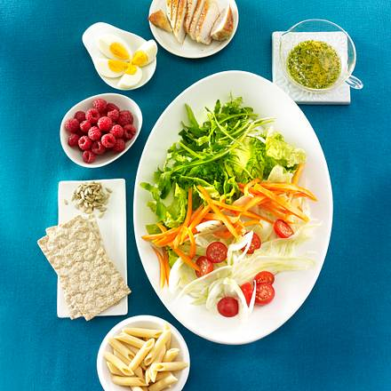 Der beste Schlank-Salat der Welt Rezept