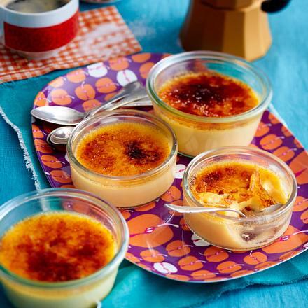 Der Burner-Crème Brûelée Rezept