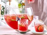 Der Frühling deckt den Tisch – Granatapfel-Bowle Rezept