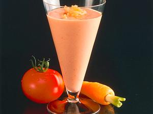 Dickmilch-Möhren-Drink Rezept