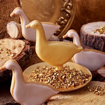 Die goldene Gans Rezept