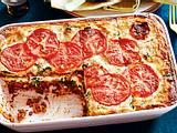 Die-Großen-wollen-auch-Lasagne mit Spinat Rezept