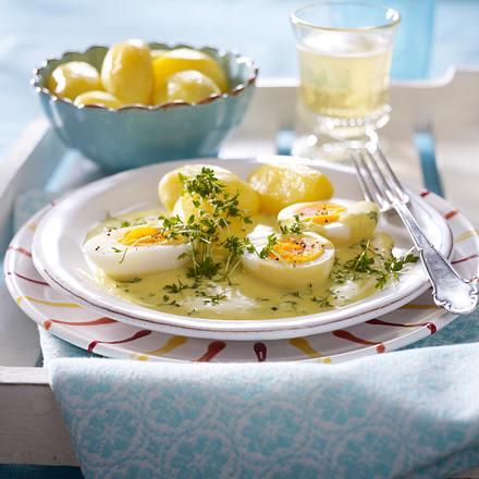 Dijonsenf-Eier Rezept