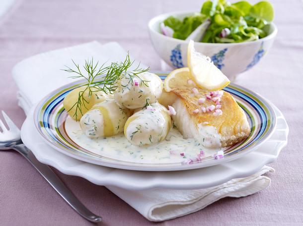 Dillkartoffeln zu Bratfisch Rezept