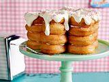 Donuts-Torte mit Himbeercreme Rezept