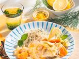 Dorschkotelett mit Möhren-Senf-Gemüse Rezept