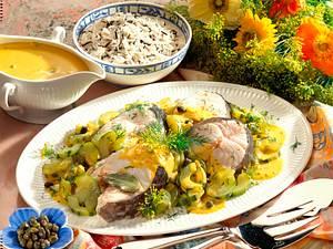 Dorschkotelett mit Senf-Karpern-Soße Rezept