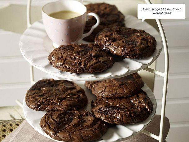 Double-Chocolate-Cookie Rezept
