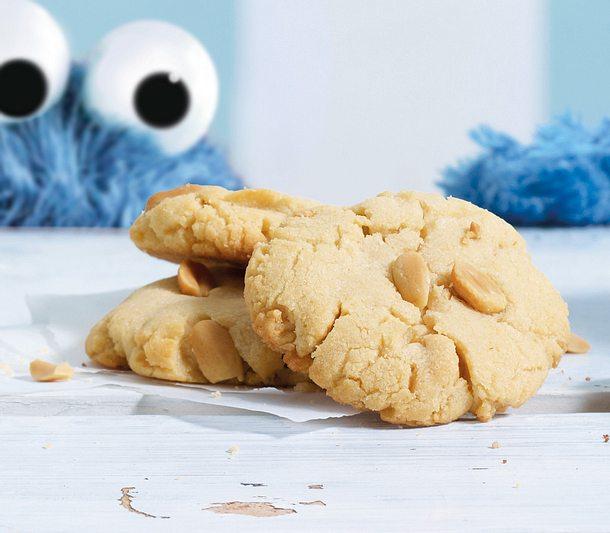 Double Peanut Cookies Rezept