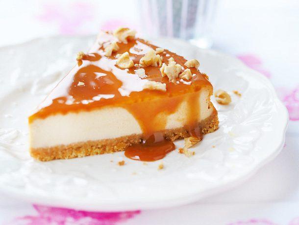 Double Toffee Cheesecake Rezept