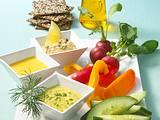Dreierlei Mayonnaise zu Gemüse Rezept