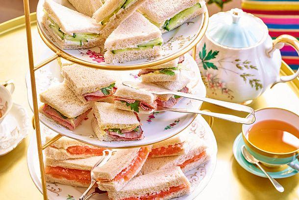 Dreierlei Sandwiches Rezept