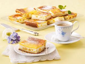 Dresdner Eierschecke mit Aprikosen Rezept
