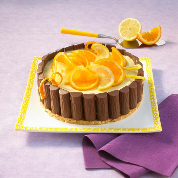 Duplo-Orangen-Charlotte Rezept