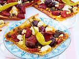 Easy-going-Flammkuchen mit Chorizo und Ziegenkäse Rezept