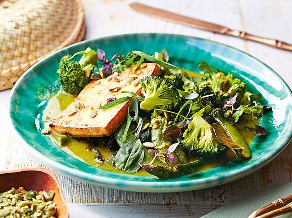 """""""Eat your Greens""""-Curry Rezept"""
