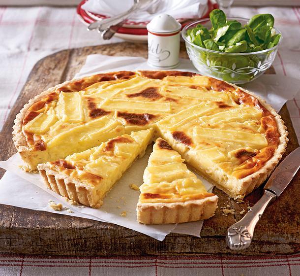 Echte Drei-Käse-Tarte Rezept