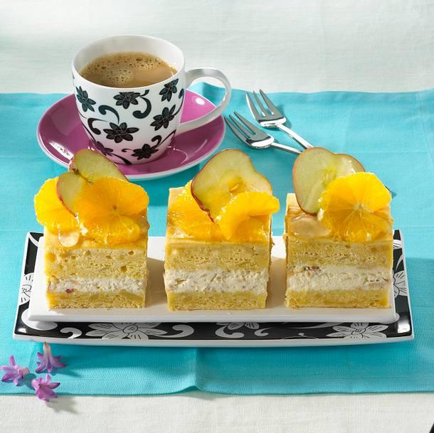 Eckiger Vitamin-Rührkuchen Rezept