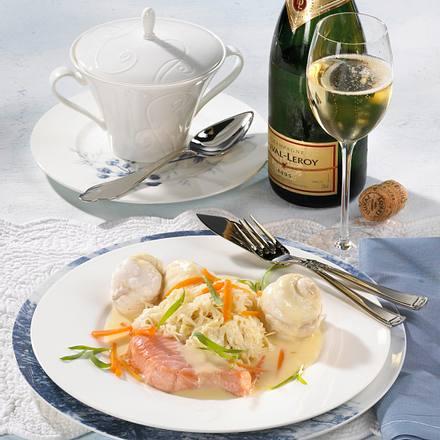 Edelfisch auf Champagnerkraut Rezept