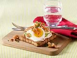 Ei-Toast mit Krabben Rezept