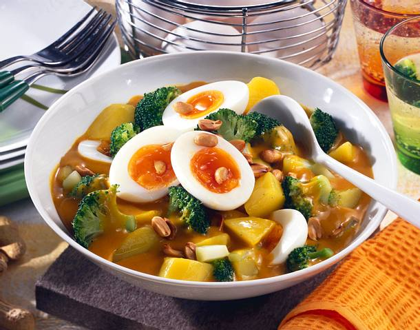 Eier-Curry-Ragout Rezept