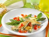Eier-Omelett mit Spargel Rezept