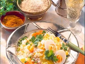 Eier-Ragout auf indische Art Rezept